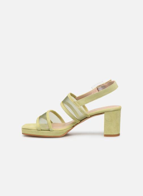 Sandales et nu-pieds About Arianne Pruna Mesh Vert vue face