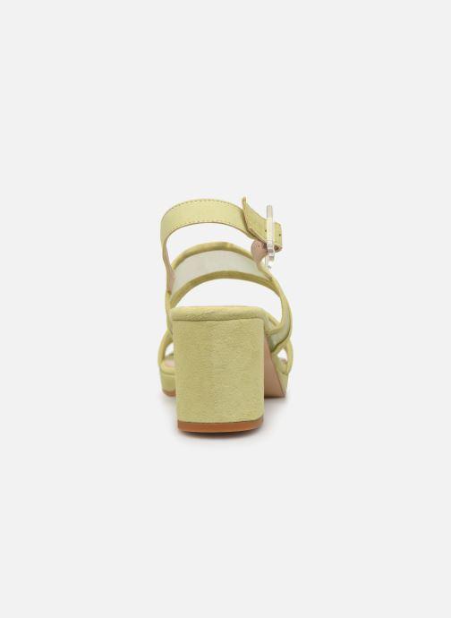Sandales et nu-pieds About Arianne Pruna Mesh Vert vue droite
