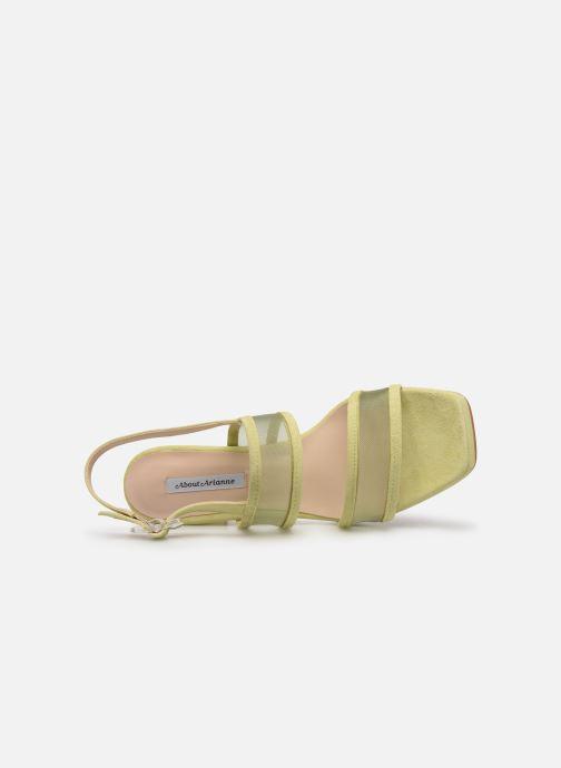 Sandales et nu-pieds About Arianne Pruna Mesh Vert vue gauche