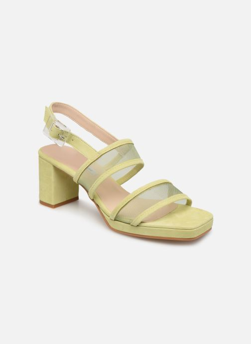 Sandales et nu-pieds About Arianne Pruna Mesh Vert vue détail/paire