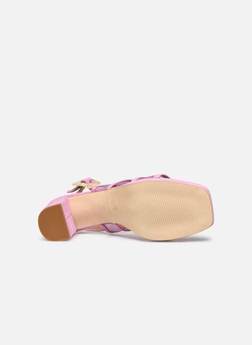 Sandali e scarpe aperte About Arianne Pruna Mesh Viola immagine dall'alto