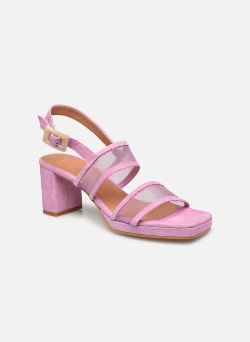 Sandales et nu-pieds About Arianne Pruna Mesh Violet vue détail/paire