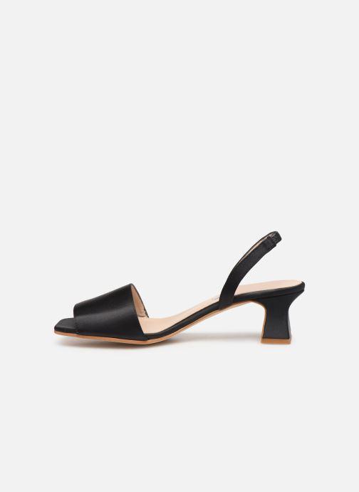 Sandales et nu-pieds About Arianne Joan Noir vue face