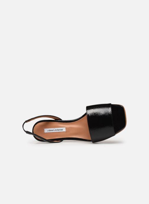 Sandales et nu-pieds About Arianne Joan Noir vue gauche