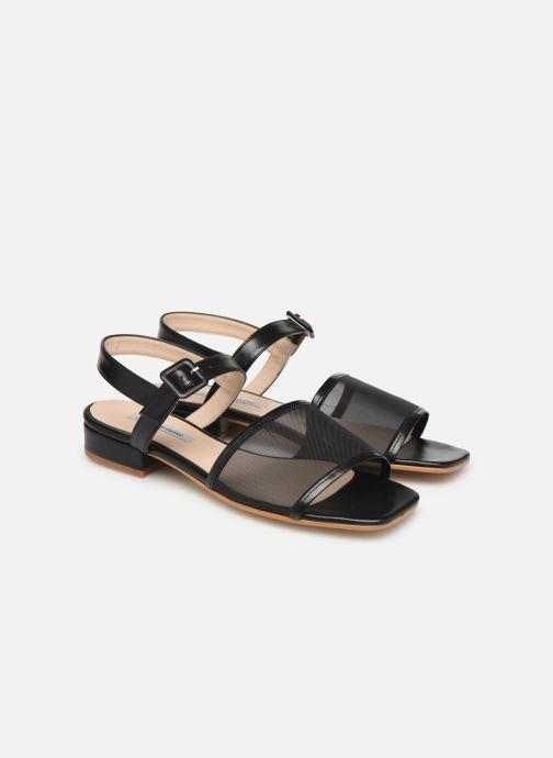 Sandales et nu-pieds About Arianne Marini Mesh Noir vue 3/4