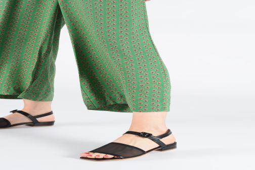 Sandales et nu-pieds About Arianne Marini Mesh Noir vue bas / vue portée sac
