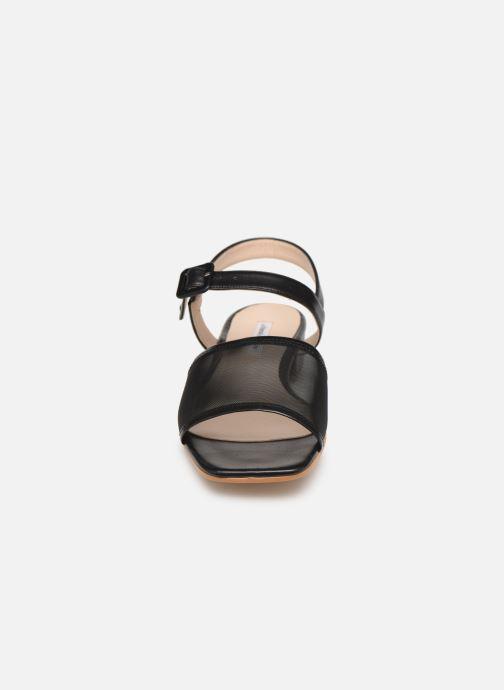 Sandales et nu-pieds About Arianne Marini Mesh Noir vue portées chaussures