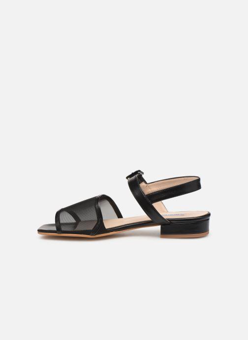 Sandales et nu-pieds About Arianne Marini Mesh Noir vue face