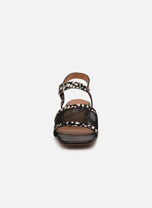 Sandalen About Arianne Marini Mesh schwarz schuhe getragen