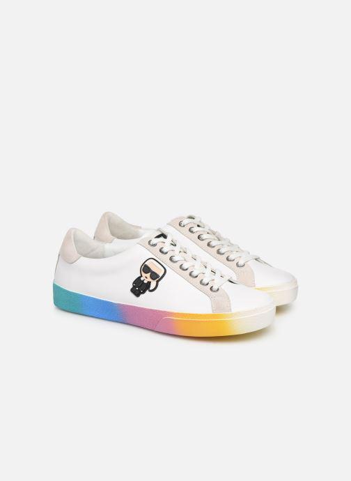 Sneakers KARL LAGERFELD Skool II Karlifornia Ikon Lace Wit 3/4'