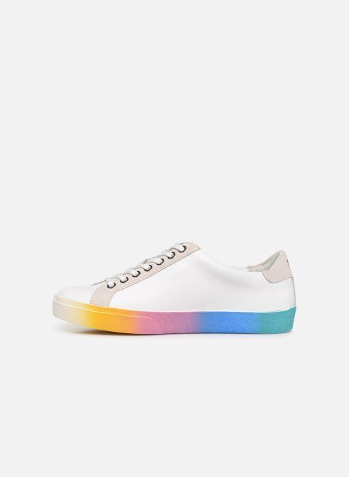 Sneakers Karl Lagerfeld Skool II Karlifornia Ikon Lace Wit voorkant