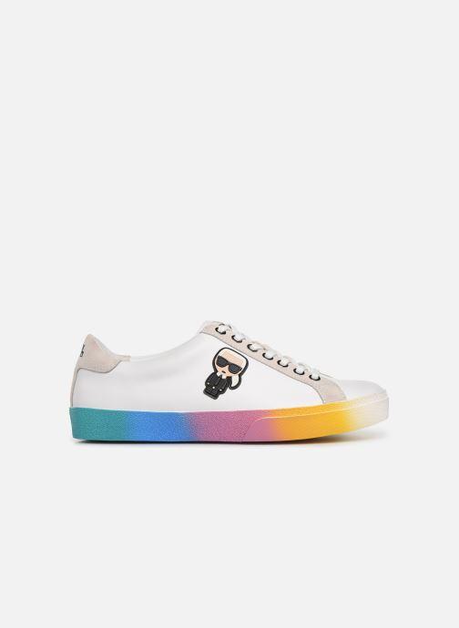 Sneakers KARL LAGERFELD Skool II Karlifornia Ikon Lace Wit achterkant