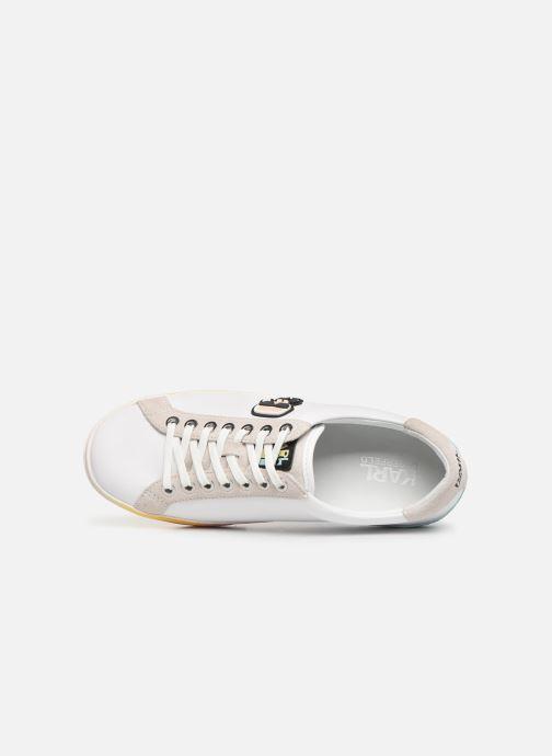 Sneakers KARL LAGERFELD Skool II Karlifornia Ikon Lace Wit links