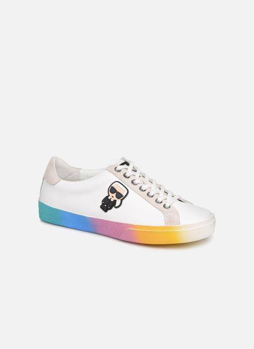 Sneakers KARL LAGERFELD Skool II Karlifornia Ikon Lace Wit detail