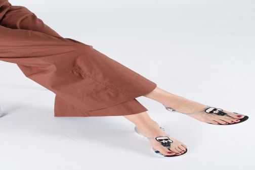 Sandals Karl Lagerfeld Jelly Karlifornia Ikon Sling Multicolor view from underneath / model view