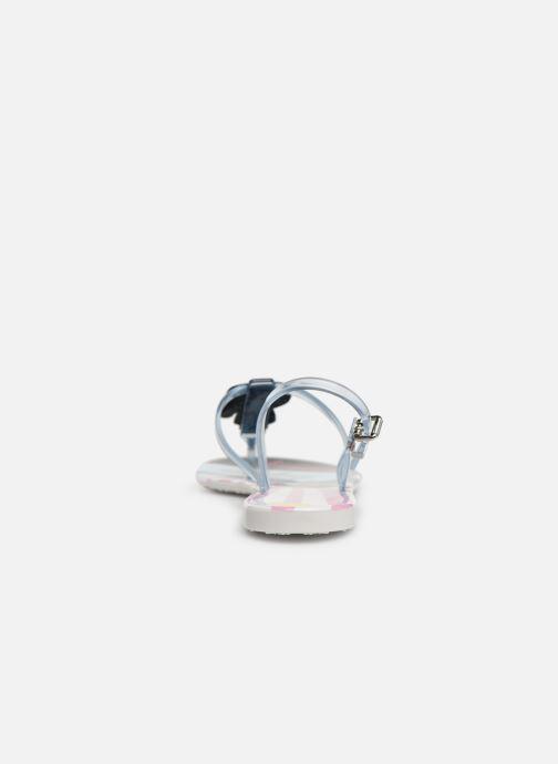 Sandales et nu-pieds KARL LAGERFELD Jelly Karlifornia Ikon Sling Multicolore vue droite