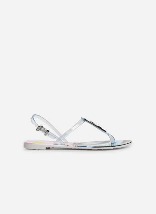 Sandales et nu-pieds KARL LAGERFELD Jelly Karlifornia Ikon Sling Multicolore vue derrière