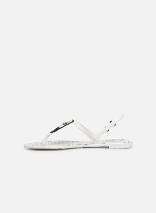 Sandals KARL LAGERFELD Jelly Karl Ikonic Sling II White front view