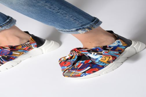 Trainers Love Moschino Nodo Running Multicolor view from underneath / model view