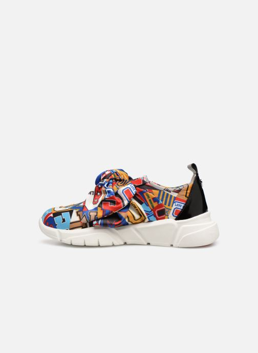 Baskets Love Moschino Nodo Running Multicolore vue face