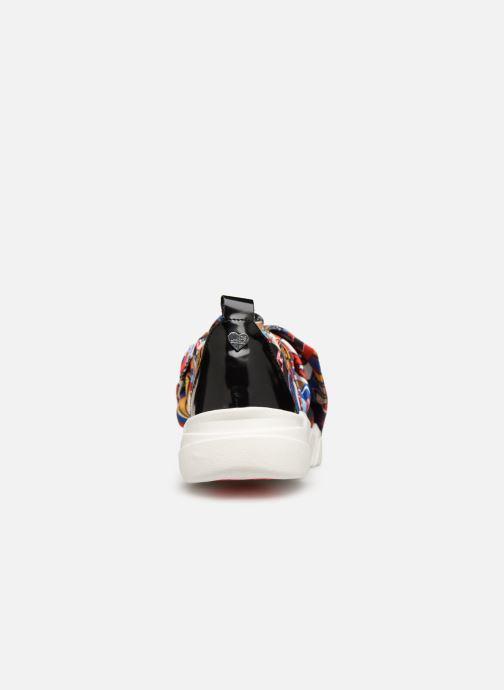 Baskets Love Moschino Nodo Running Multicolore vue droite