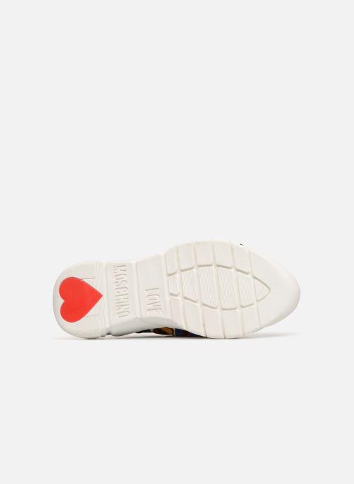 Sneakers Love Moschino Nodo Running Multicolor boven