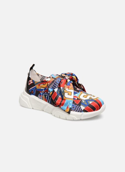 Baskets Love Moschino Nodo Running Multicolore vue détail/paire