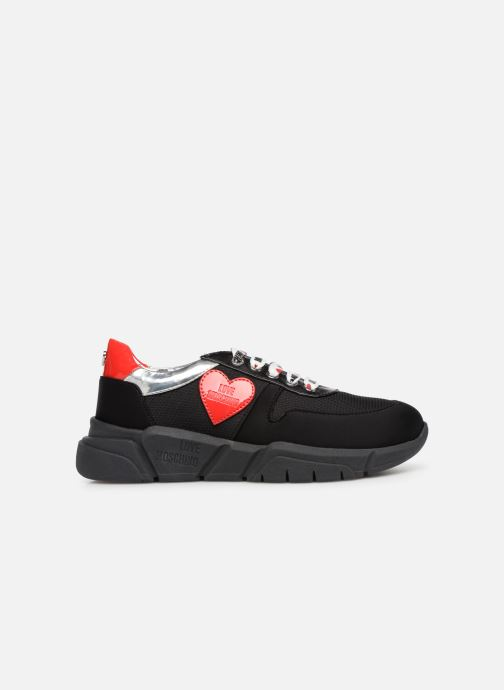 Trainers Love Moschino Patch Heart Running Black back view