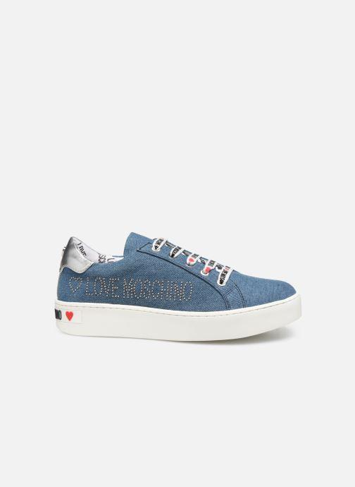Baskets Love Moschino Studs Sneaker Bleu vue derrière