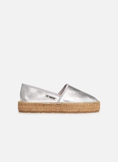 Rope Espadrilles Espadrille Label 358083 Moschino silber Love fwqz8z