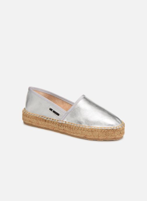 Espadrilles Love Moschino Rope Label Espadrille Silver detailed view/ Pair view
