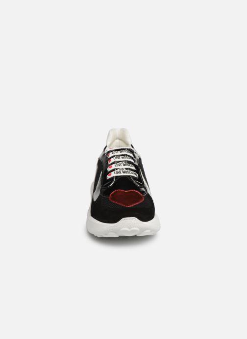 Sneakers Love Moschino New Running Heart Zwart model