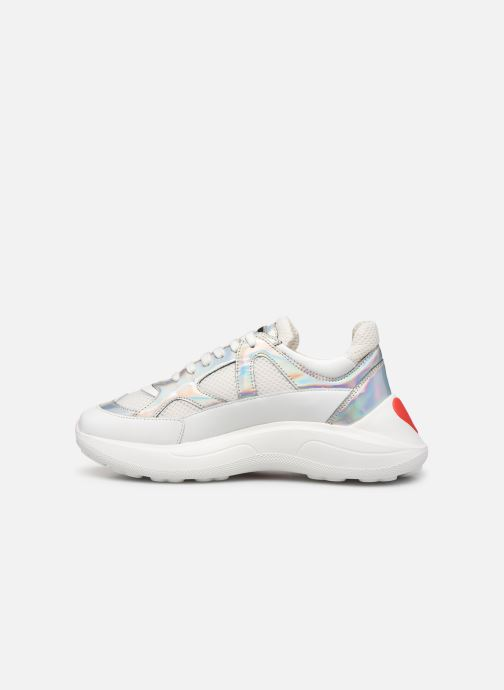 Sneakers Love Moschino New Running Wit voorkant
