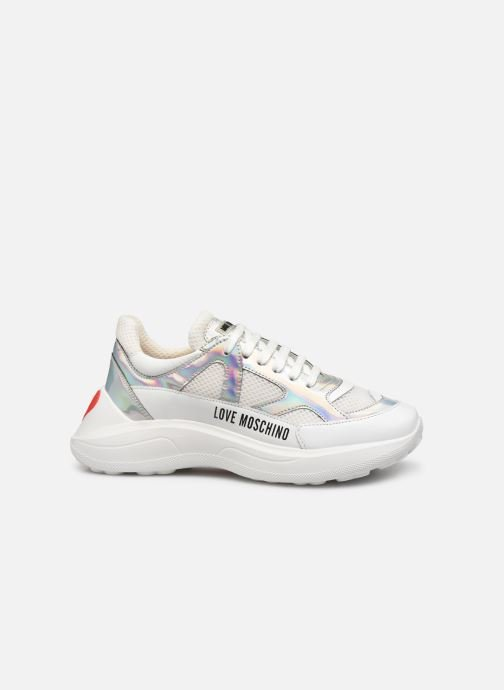 Deportivas Love Moschino New Running Blanco vistra trasera