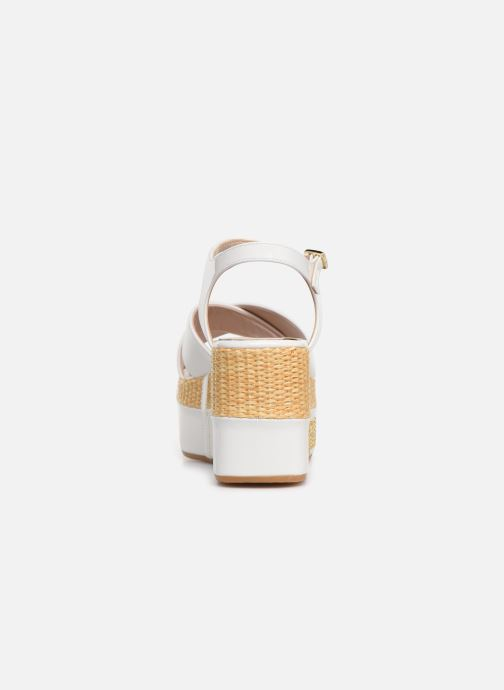 Sandals Love Moschino Feminine Studs Sandal White view from the right