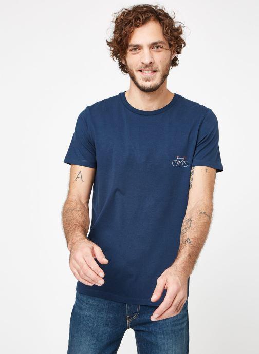 Faguo Arcy shirt Vêtements Chez Cotton bleu 358093 T q6qrwf