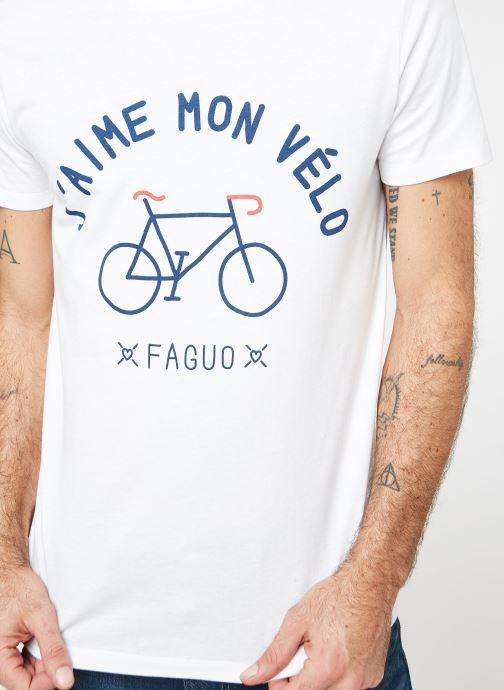 shirt Faguo T VêtementsT Cotton shirts Et Arcy Whi00 Polos fg7b6y