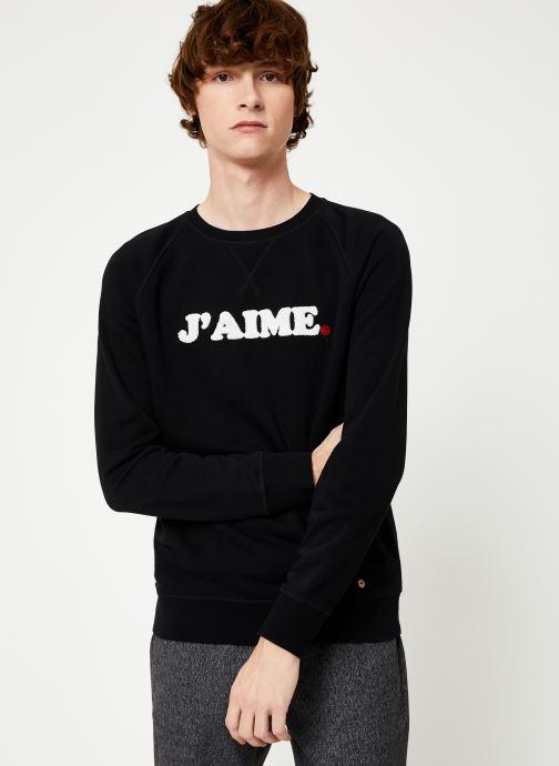 Vêtements Faguo DARNEY SWEAT COTTON Blanc vue droite