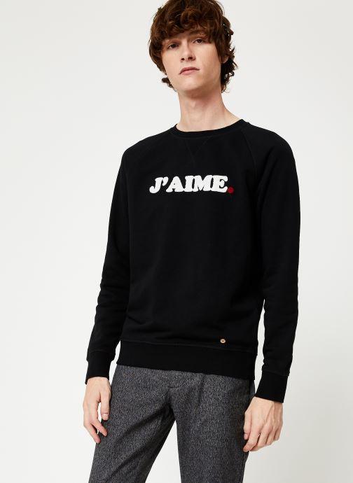 Vêtements Faguo DARNEY SWEAT COTTON Blanc vue détail/paire