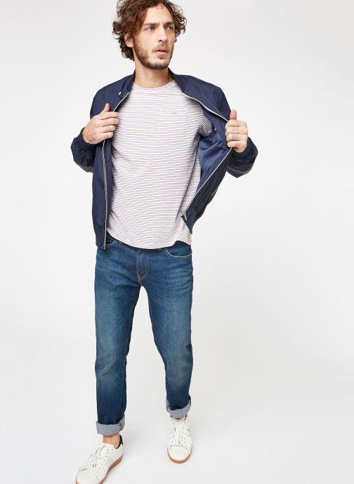 Vêtements Faguo HANAU JACKET Bleu vue bas / vue portée sac