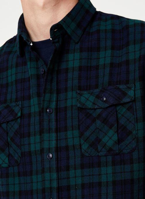 Vêtements Faguo CERISY SHIRT COTTON Bleu vue face