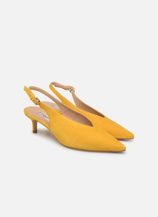 Zapatos de tacón L.K. Bennett Livia Amarillo vista 3/4