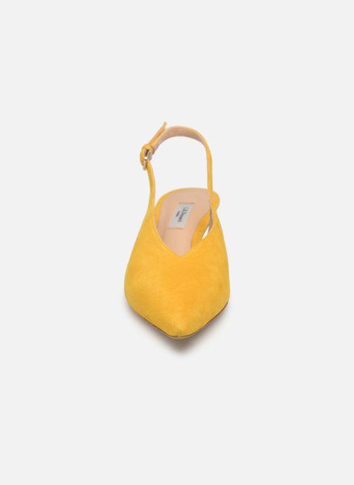 Pumps L.K. Bennett Livia gelb schuhe getragen
