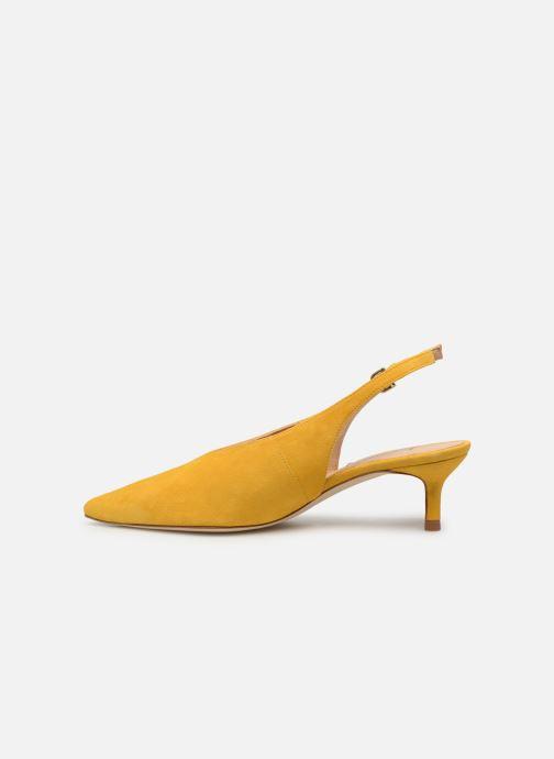Zapatos de tacón L.K. Bennett Livia Amarillo vista de frente