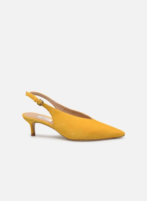 Zapatos de tacón L.K. Bennett Livia Amarillo vistra trasera