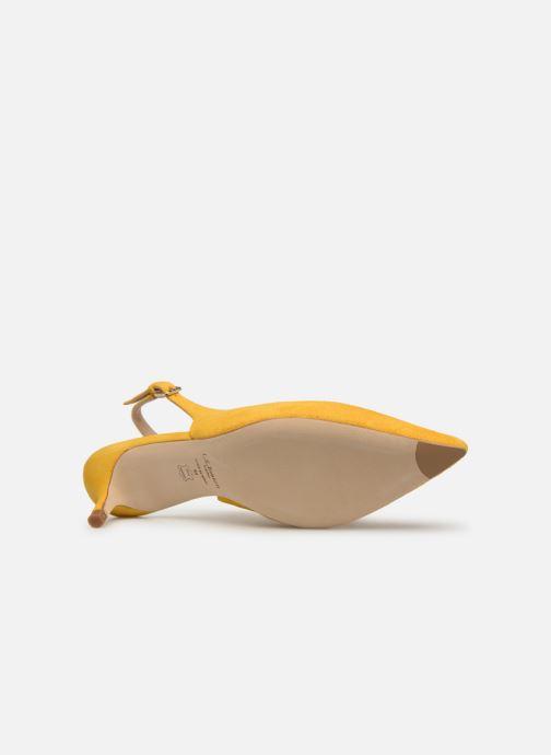 Zapatos de tacón L.K. Bennett Livia Amarillo vista de arriba