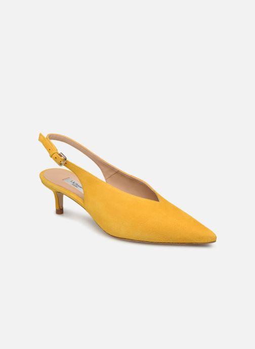 High heels L.K. Bennett Livia Yellow detailed view/ Pair view
