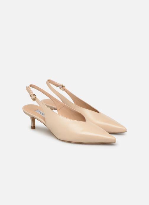 Zapatos de tacón L.K. Bennett Livia Beige vista 3/4