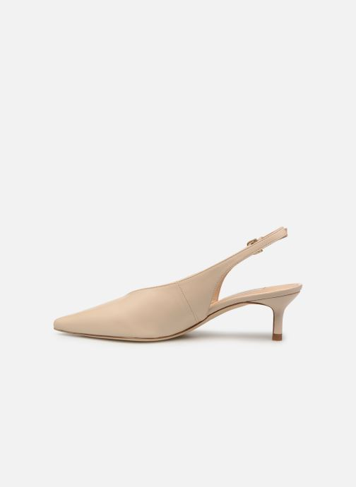 Zapatos de tacón L.K. Bennett Livia Beige vista de frente