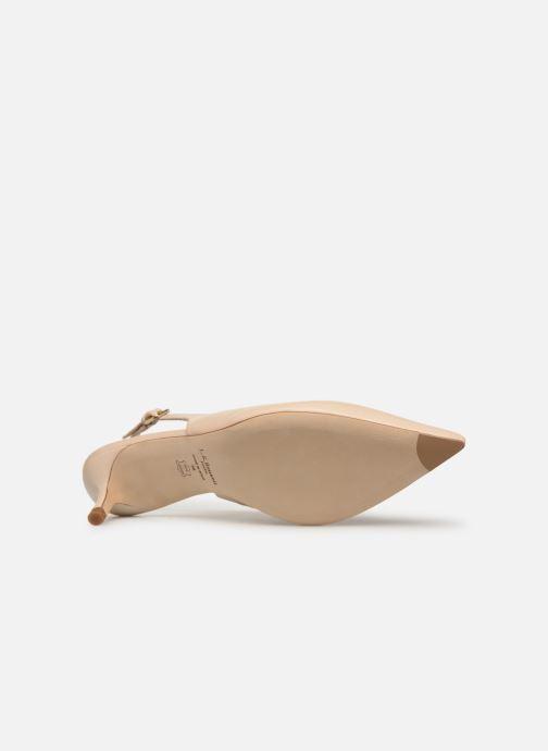Zapatos de tacón L.K. Bennett Livia Beige vista de arriba